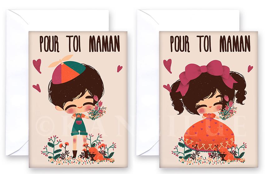 kanzilue - carte fête des mères