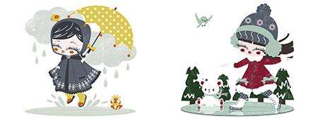 kanzilue illustration utomne hiver