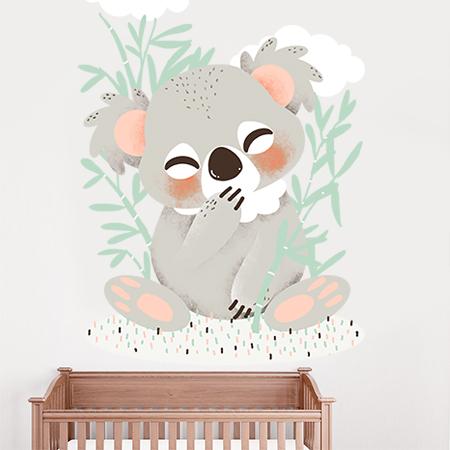 Stickers Les Animignons - le petit Koala