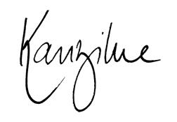 Logo Kanzilue – la boutique