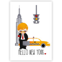 Affiche Personnalisable - Hello New York