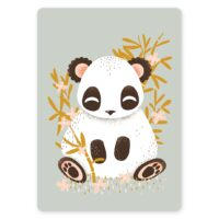 carte animignons panda