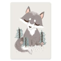 carte animignons loup