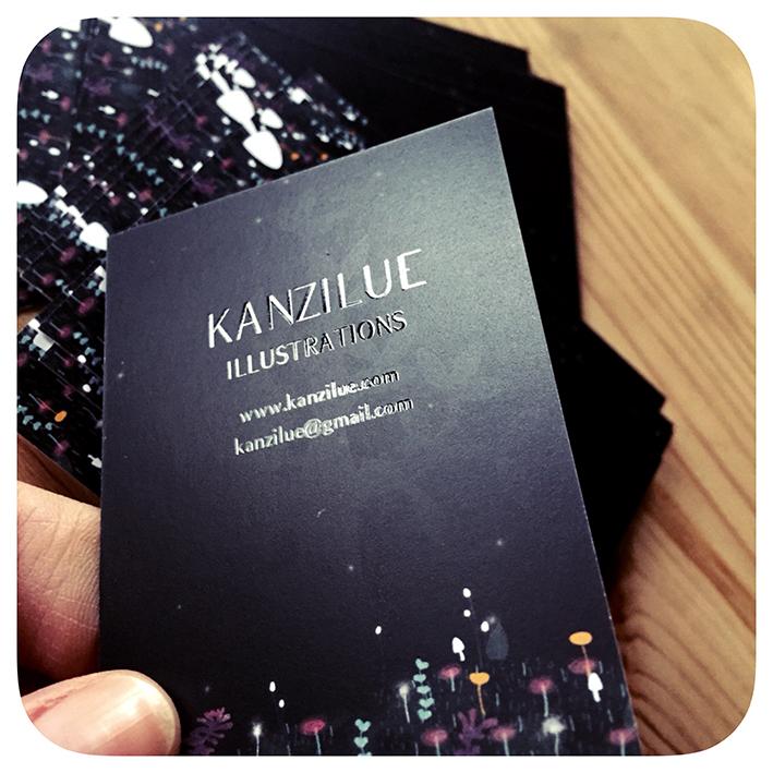 carte de visite kanzilue verso