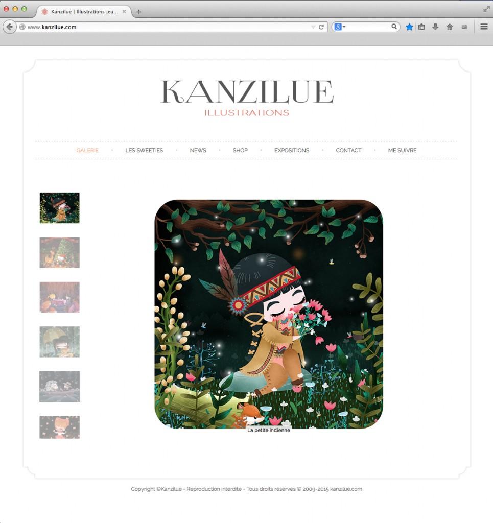 nouveau site kanzilue