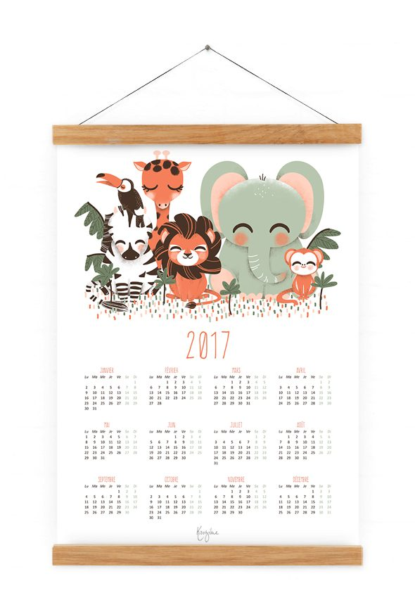 calendrier-2017-animaux-de-la-jungle2