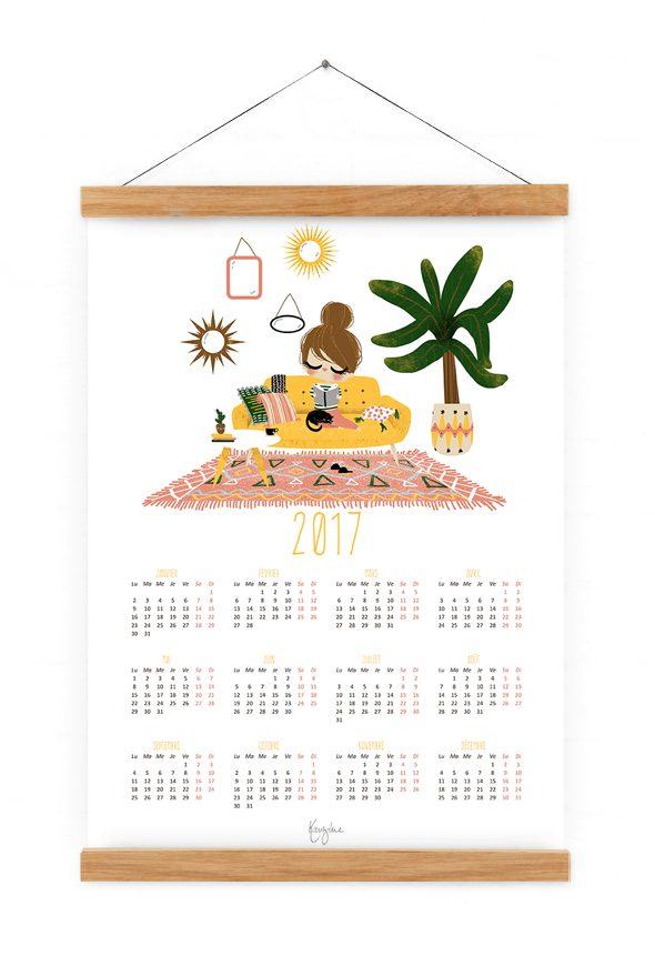 calendrier-2017-home-sweet-home-jaune-2
