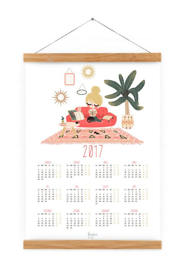 calendrier-2017-home-sweet-home-rose-2