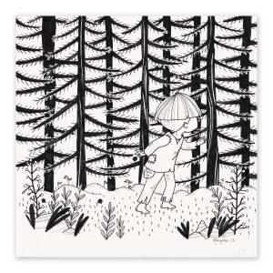 illustration originale – série Inktober 2017 – Jour 19 – le Petit Poucet