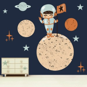 stickers astronaute